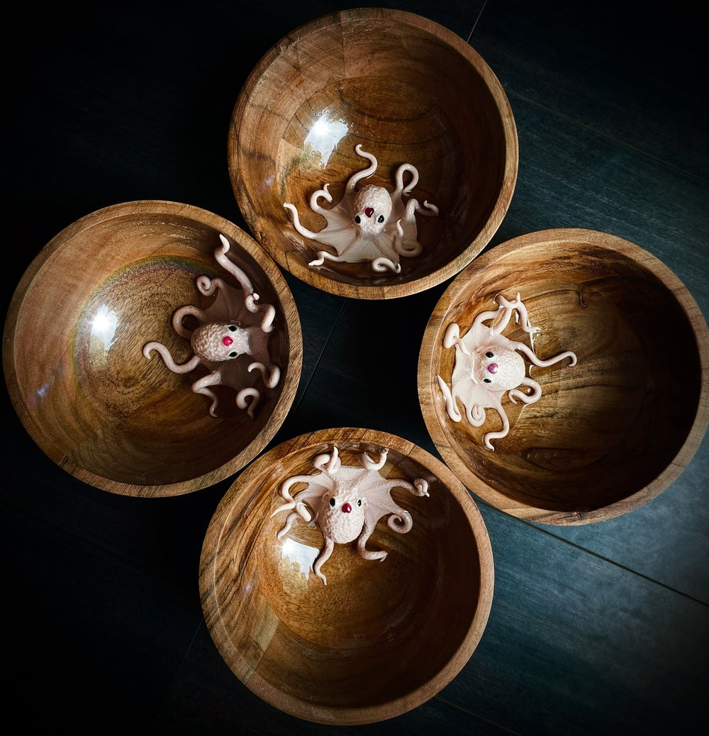 Image of Hand sculpted Octobabe Bowls