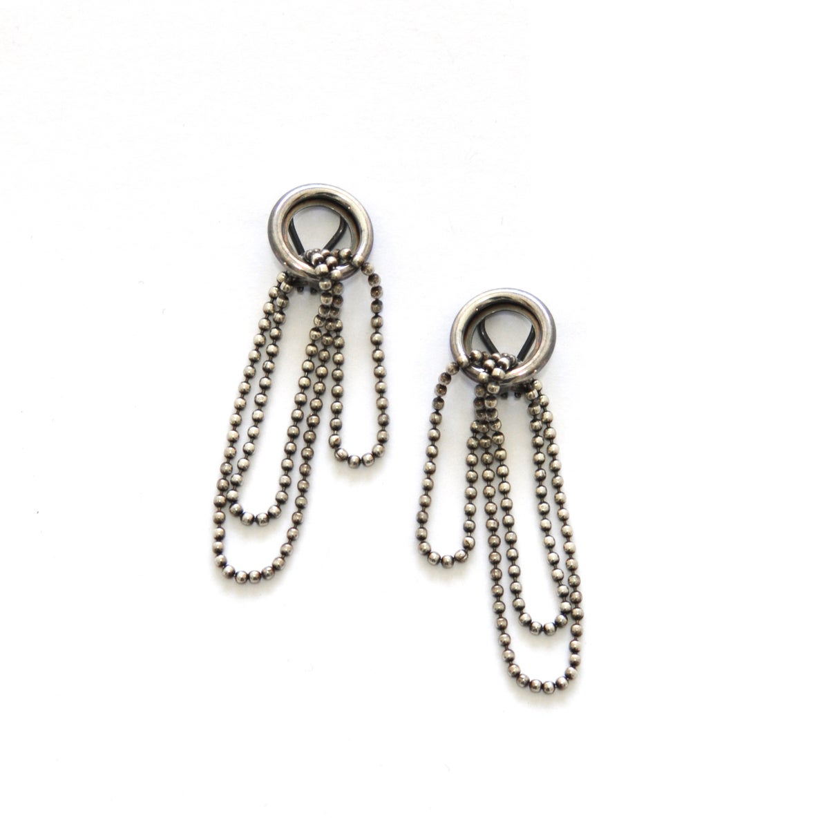 Image of SIMPLE SILVER clip earrings