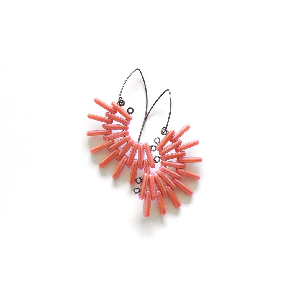 Image of SPOKED hanging earrings