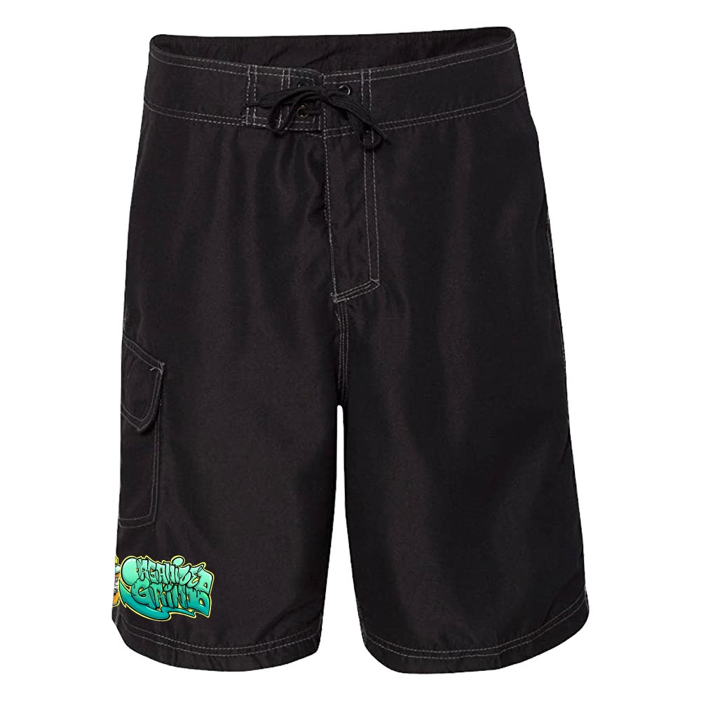Image of New OG Board-shorts & Slides