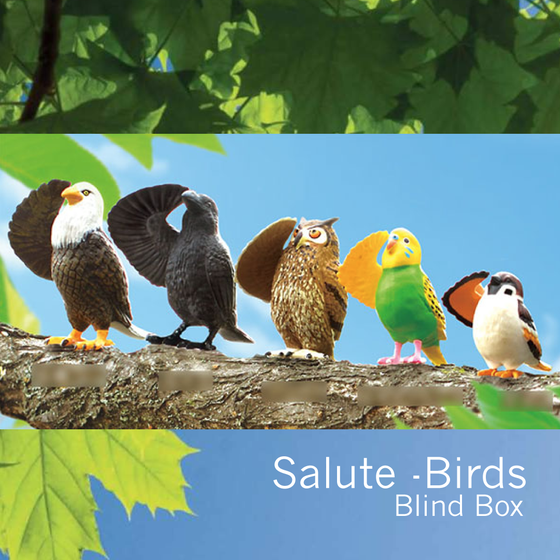 Image of Salute Birds by YELL Japan