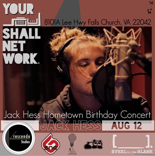 Image of [VIP] Jack Hess Hometown Birthday Concert [LIMITED]