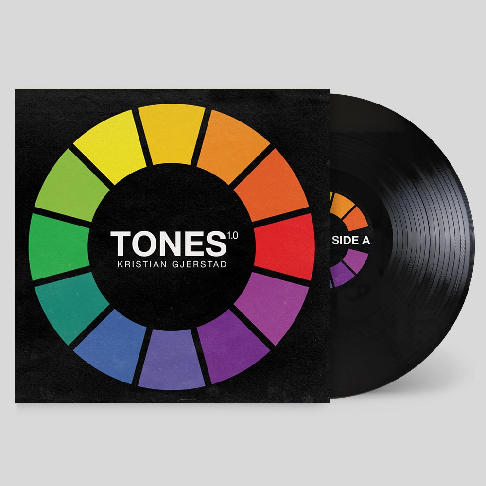 "12"" Vinyl (Black) - Tones 1.0 by Kristian Gjerstad"