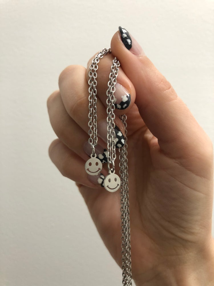 Image of MINI SMILEY NECKLACE