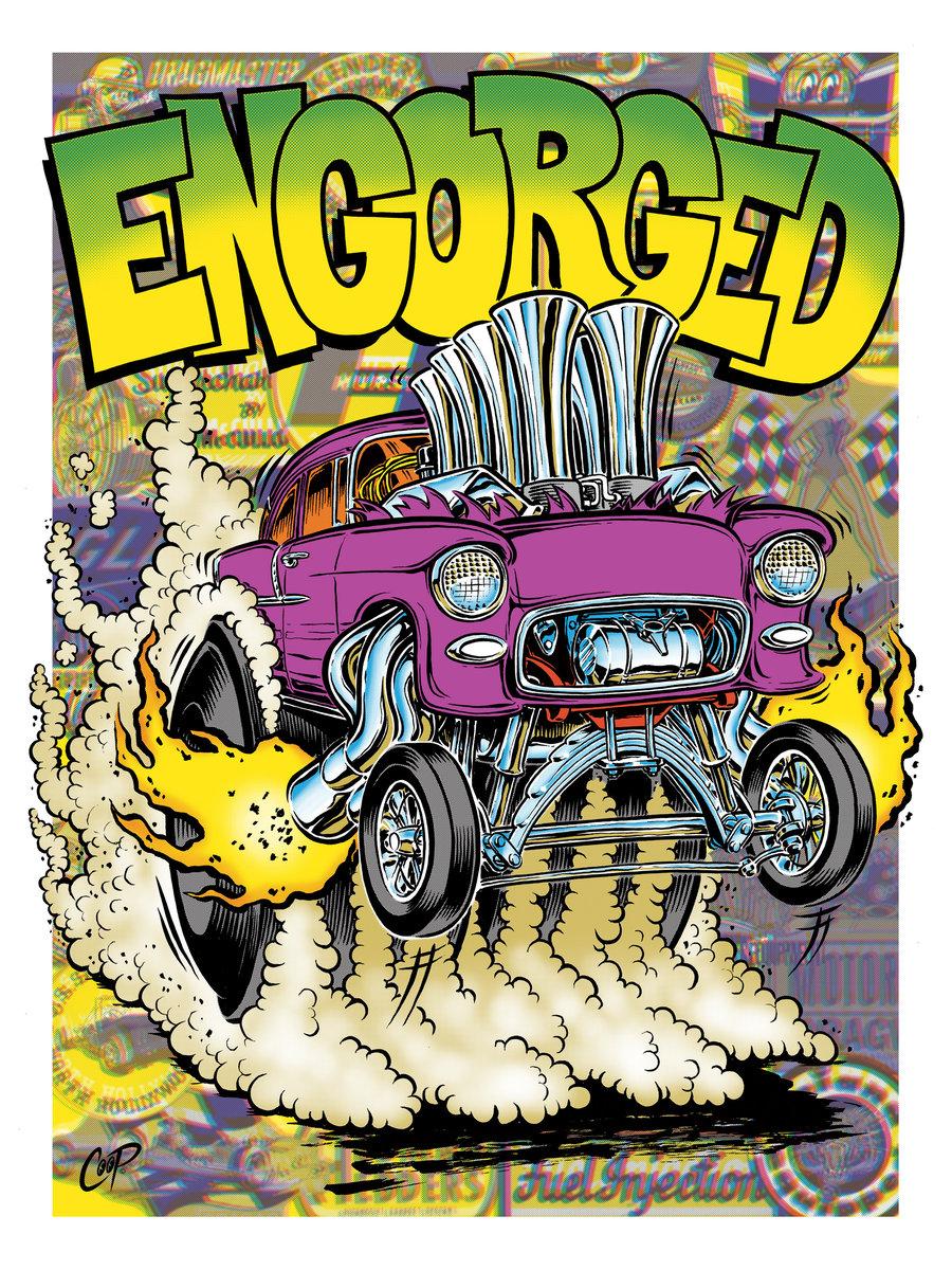Image of ENGORGED Silkscreen Print