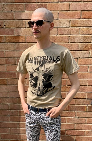 Image of 'CHAOS' T-SHIRT - KHAKI [ONLY 8 MADE]
