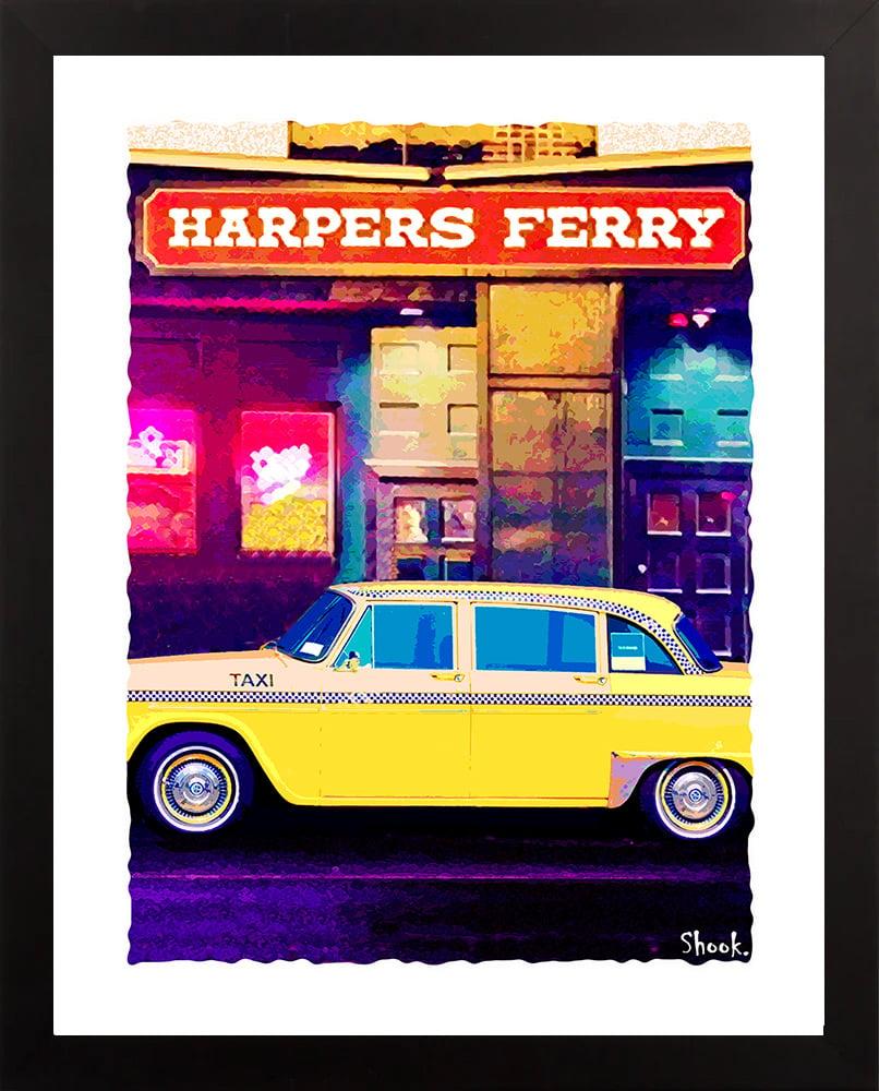 Harpers Ferry, Boston MA Giclée Art Print (Multi-size options)