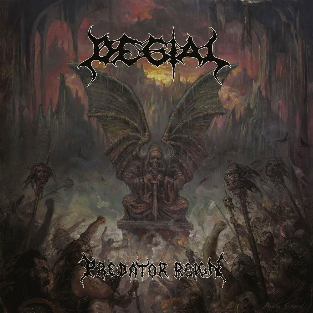 "Image of Degial ""Predator Reign"" _ 12"" LP_ Sepulchral Voice"