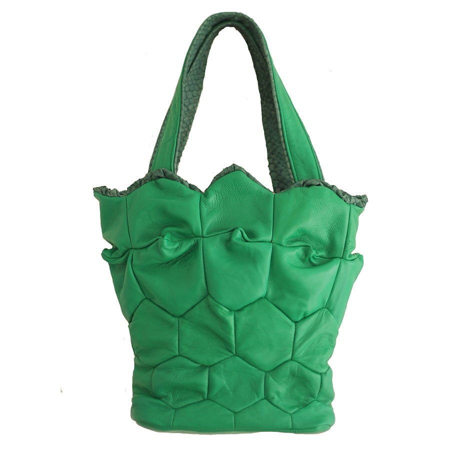 Image of Cactus tote with zipper