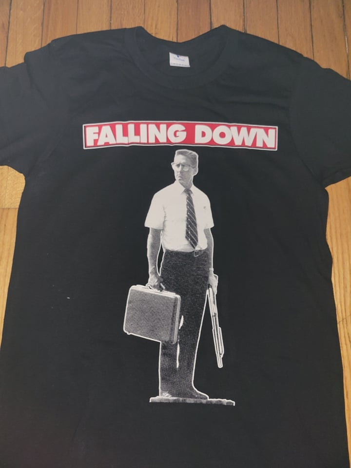 Image of FALLING DOWN T SHIRT (IN STOCK)