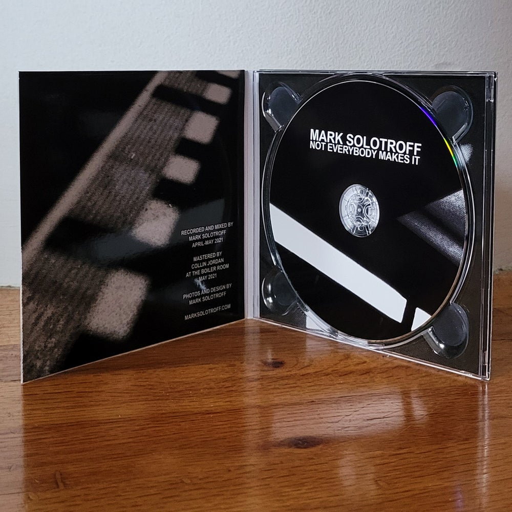 """Mark Solotroff """"Not Everybody Makes It"""" CD"""