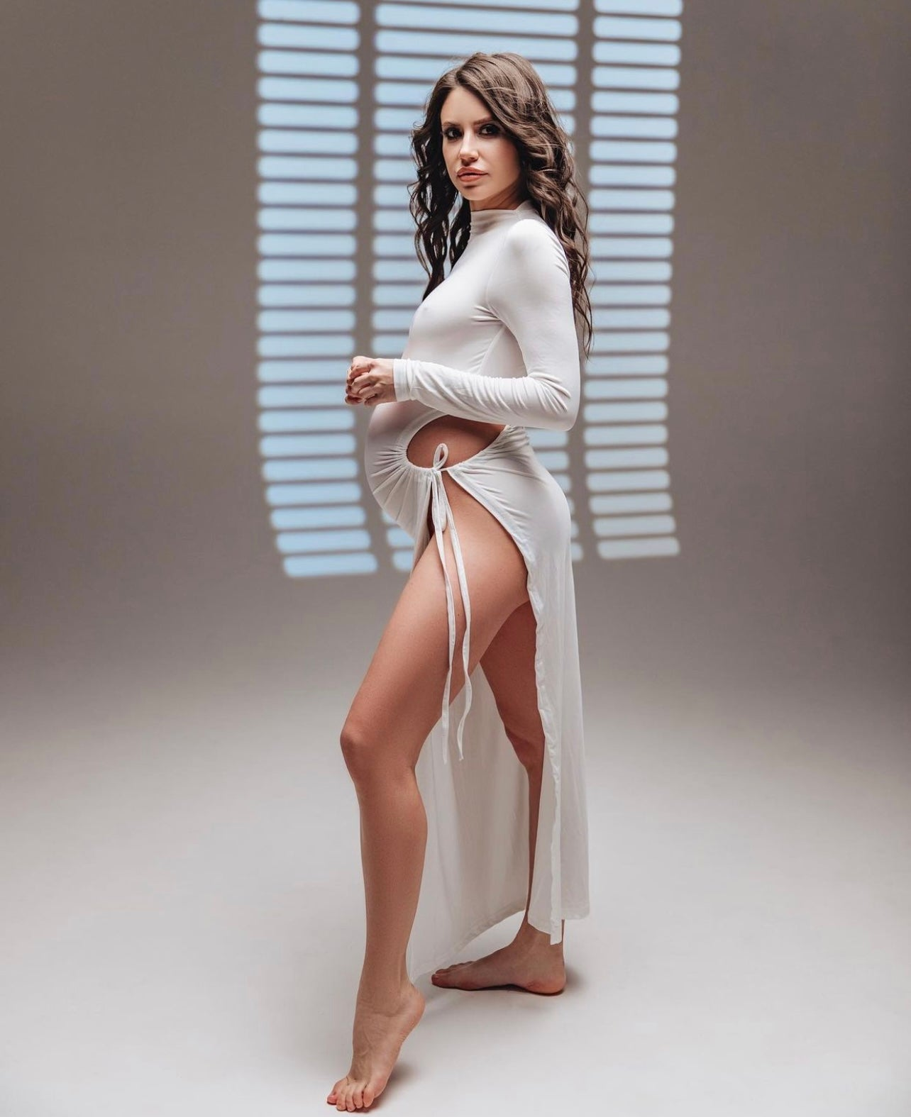 Image of Linda Sheer Dress