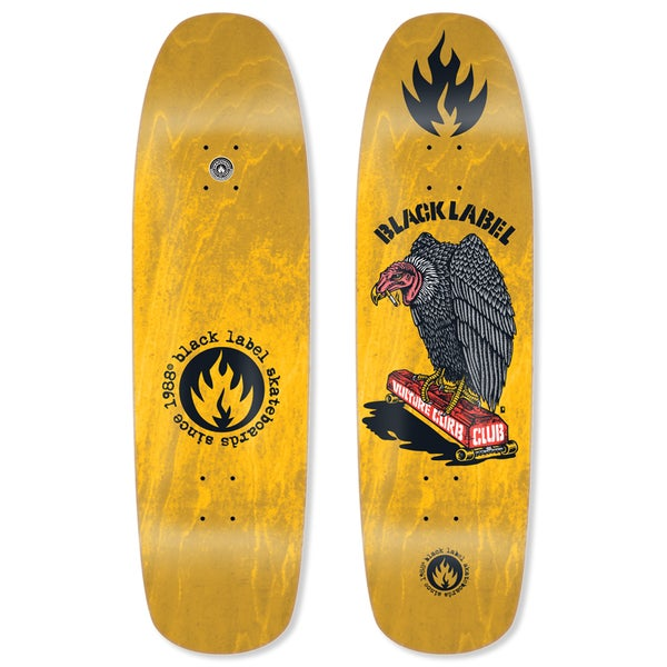 """Image of """"Vulture Curb Club"""" 8.88"""" Yellow Stain"""