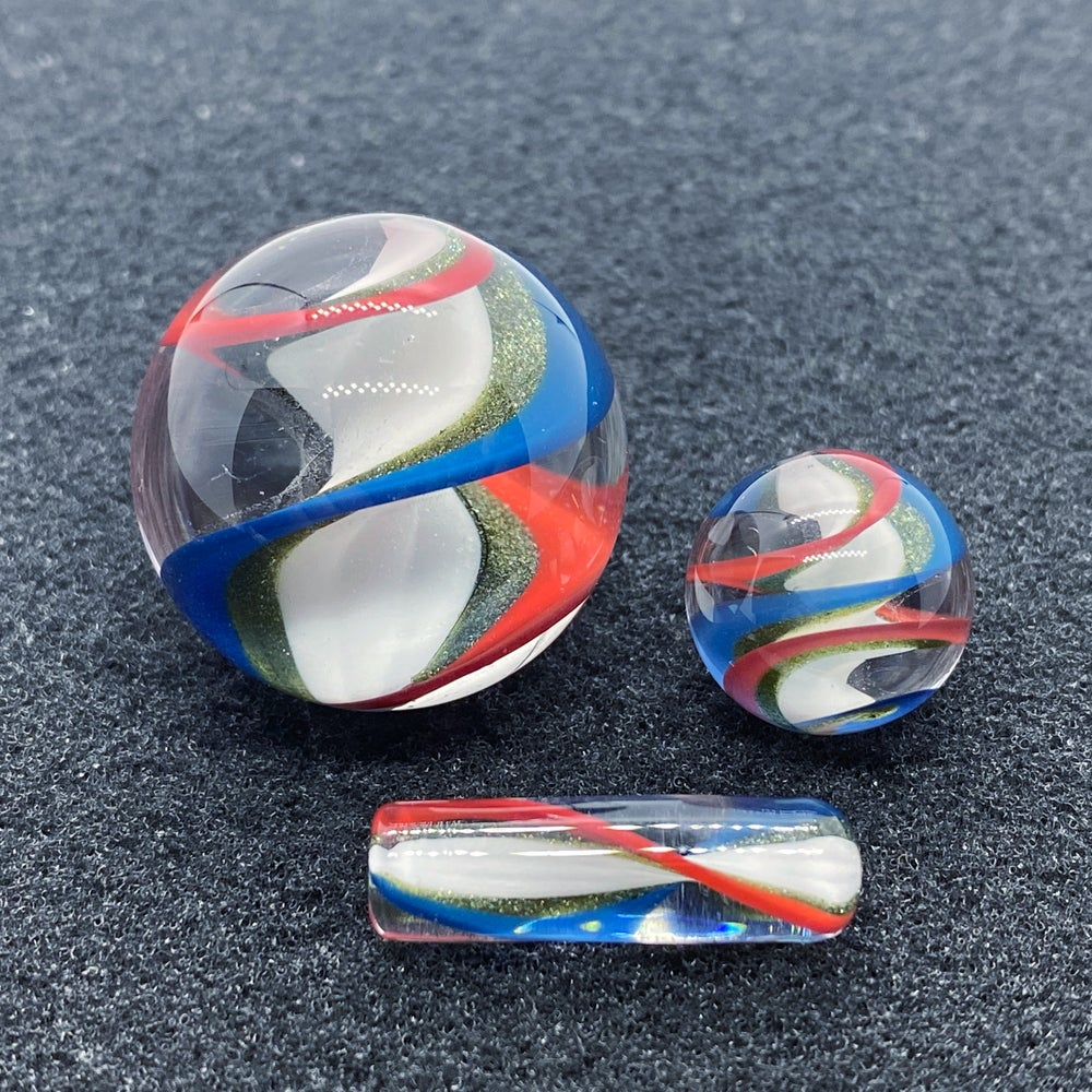 Image of Nephilim Glass Line Worked Marble Set #2