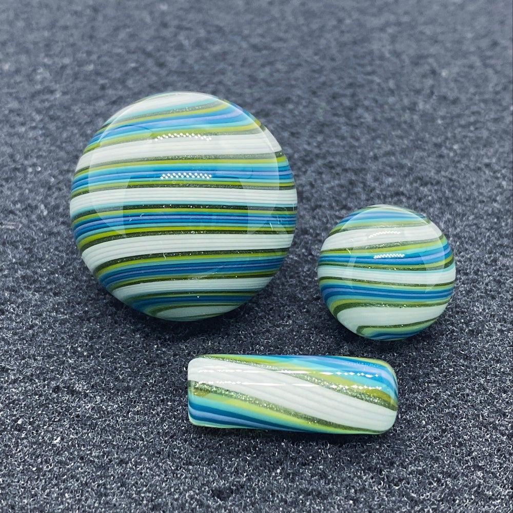 Image of Nephilim Glass Line Worked Marble Set #12