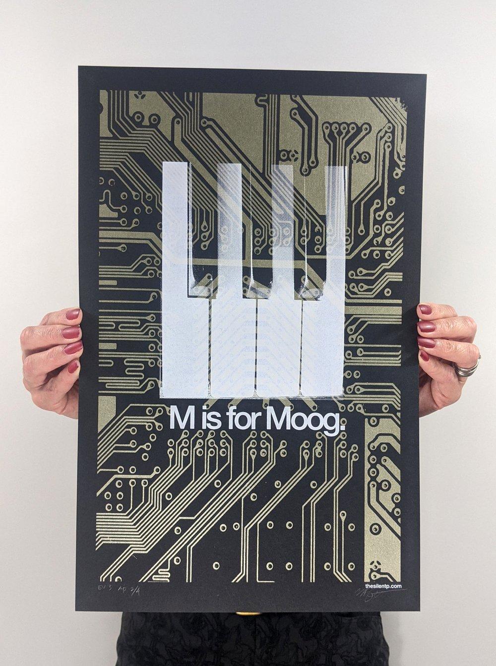 M is for Moog - Gold EV3