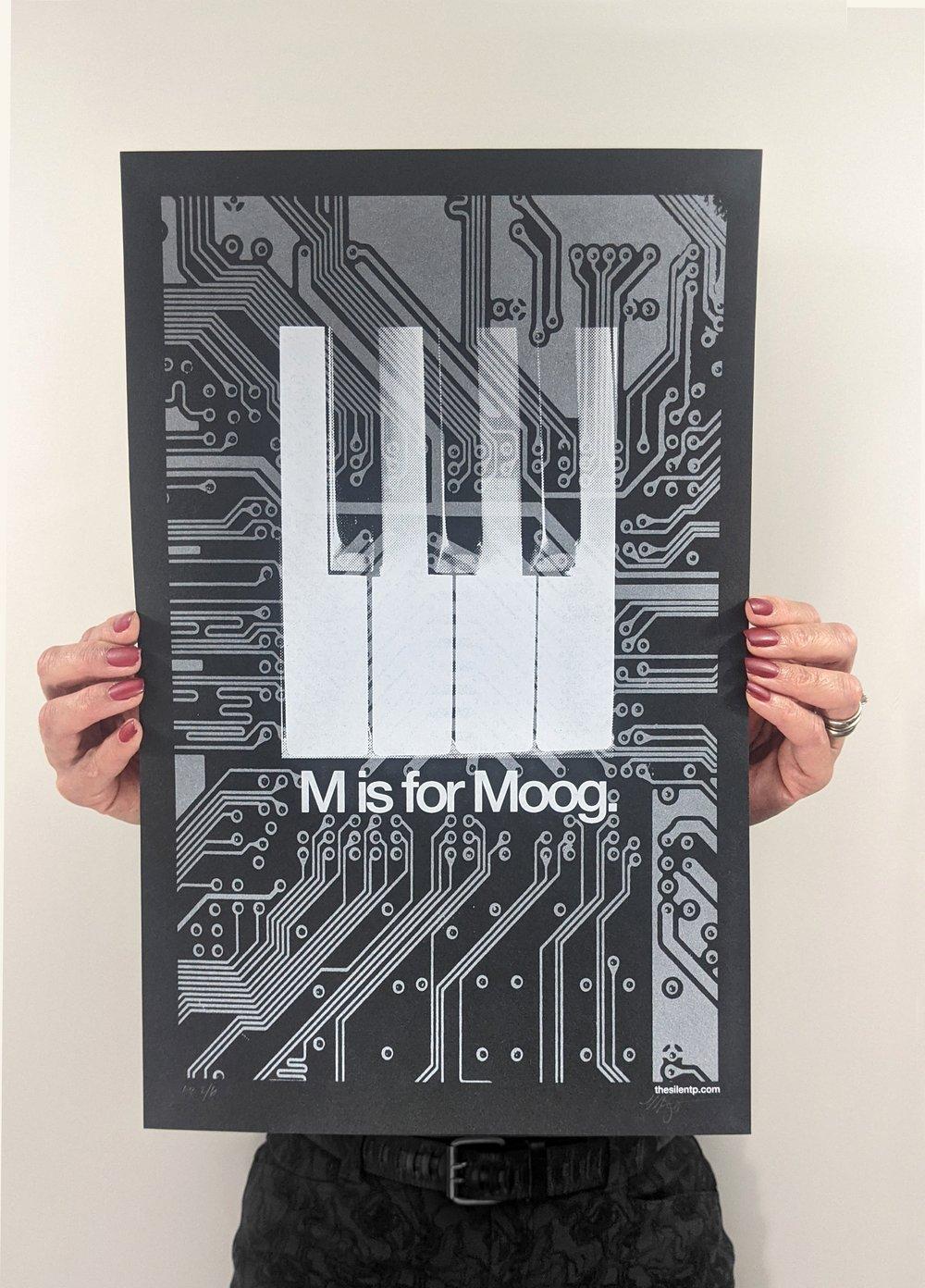 M is for Moog - EV3