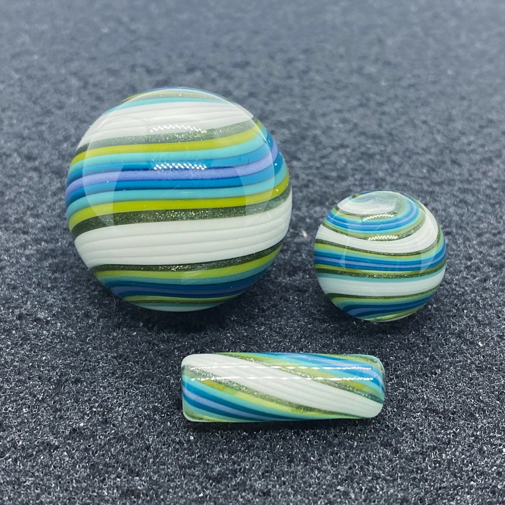 Image of Nephilim Glass Line Worked Marble Set #22
