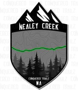 "Image of ""Nealey Creek"" Trail Badge"