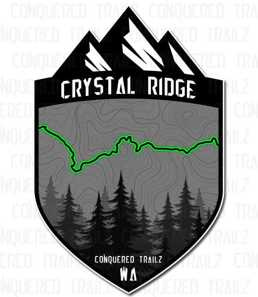 "Image of ""Crystal Ridge"" Trail Badge"