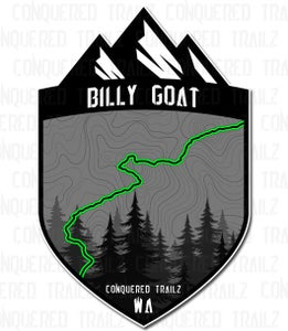 """Image of """"Billy Goat"""" Trail Badge"""