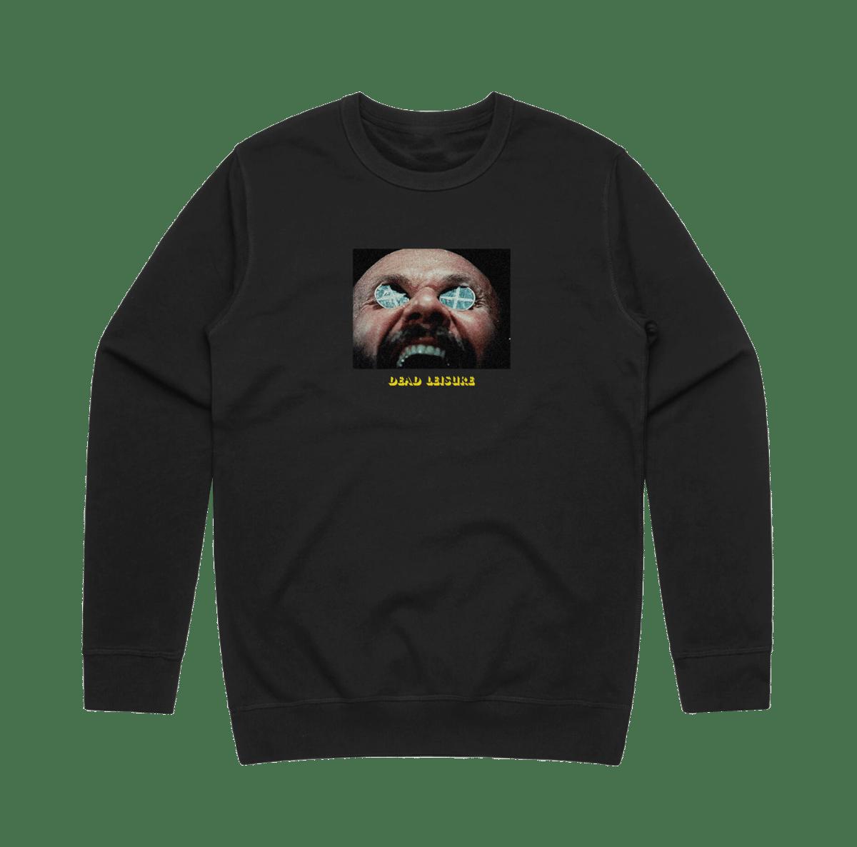 Awake & Afraid Crew Sweatshirt - Black