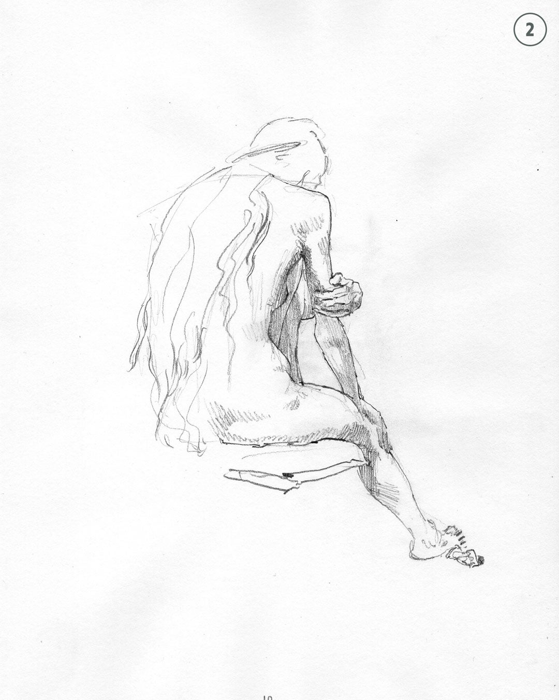 Image of Life drawings II