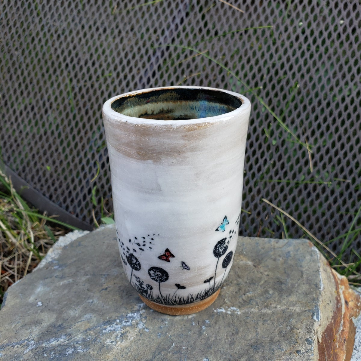 Image of Butterfly Friend Tumbler: Black
