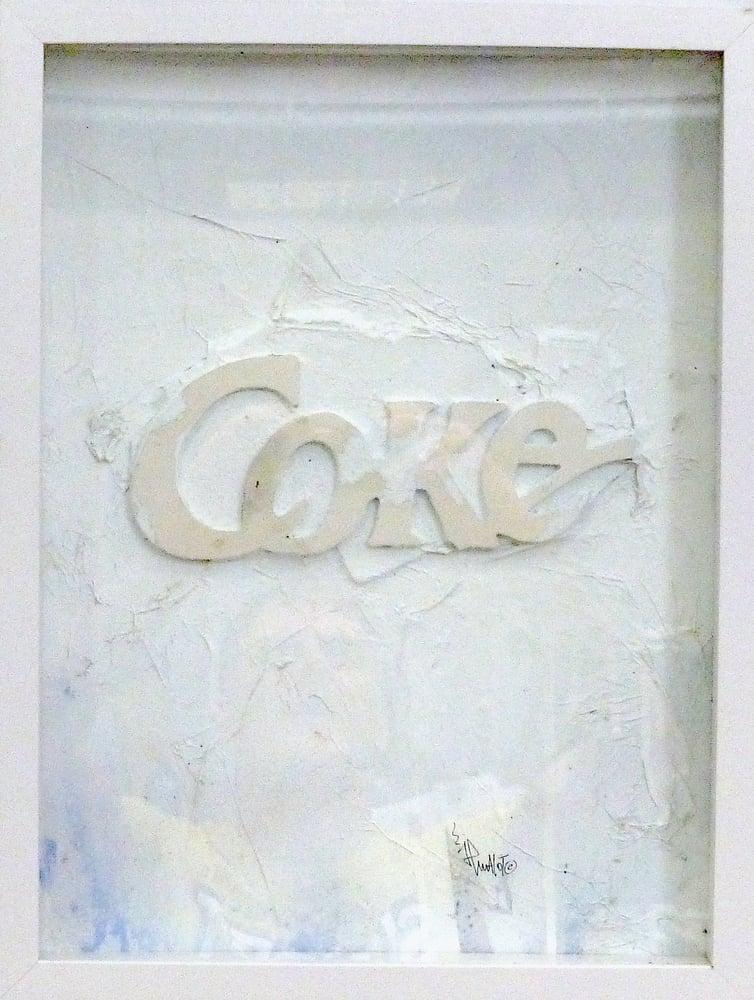 Image of JP Malot. 'Coke' Brut. 2021. 40x30. Signed + COA. Frame included.