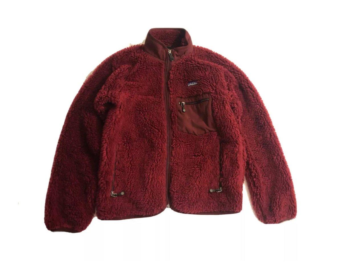 Image of Vintage Patagonia Retro-X Deep Pile Jacket Small