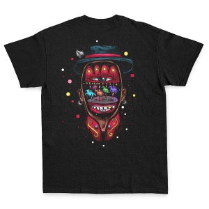 Image of LET'S PRINT #8   MAX PETRONE   INSOMNIA   Limited Edition t-shirt