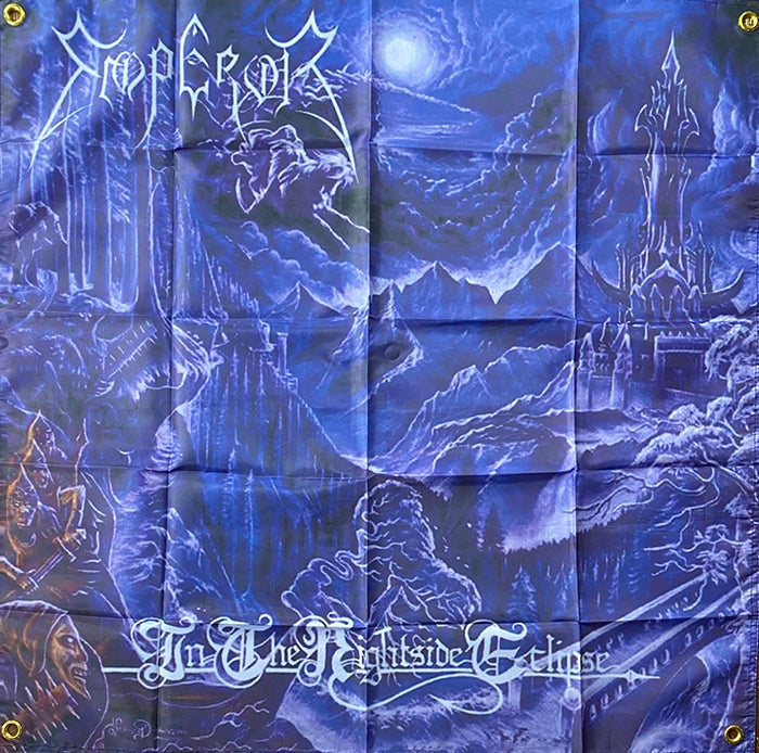 """Image of Emperor """" In The Nightside Eclipse """"  Flag / Banner / Tapestry"""