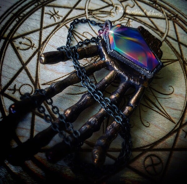 Image of Aurora Opal Coffin Amulet
