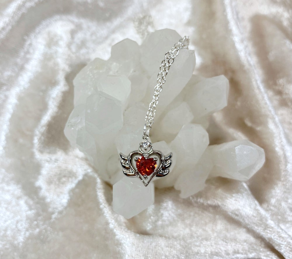 Image of January Sailor Moon necklace (silver)
