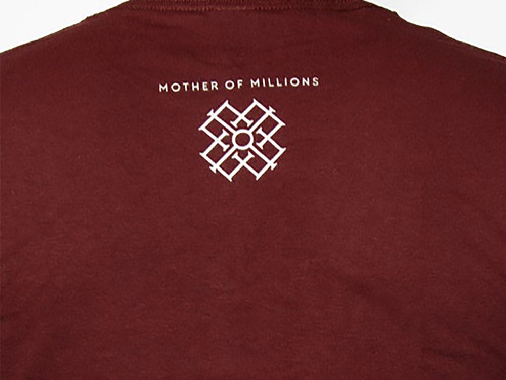 Image of Rise Evolve t-shirt (Maroon)