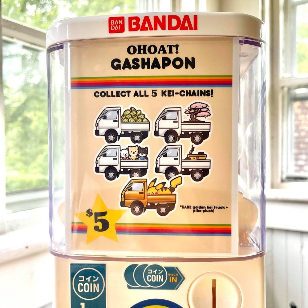 KEI CHAIN GASHAPON MACHINE