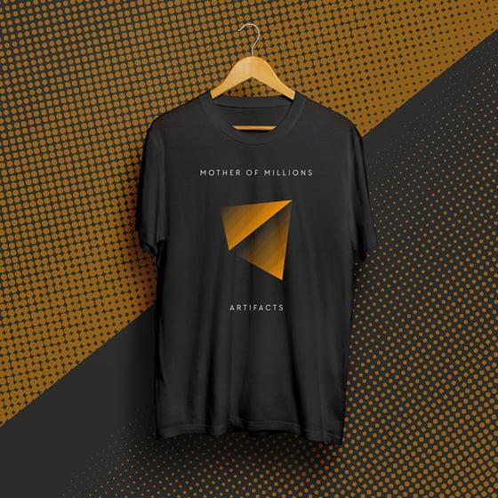 Image of Artifacts t-shirt (Orange Pyramid)