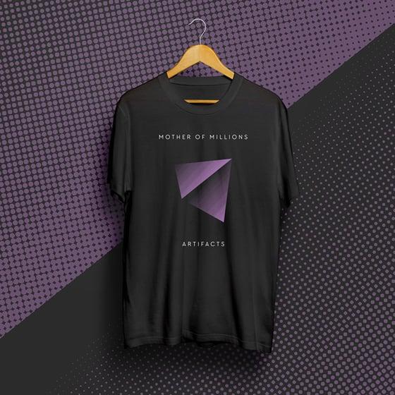 Image of Artifacts t-shirt (Purple Pyramid)