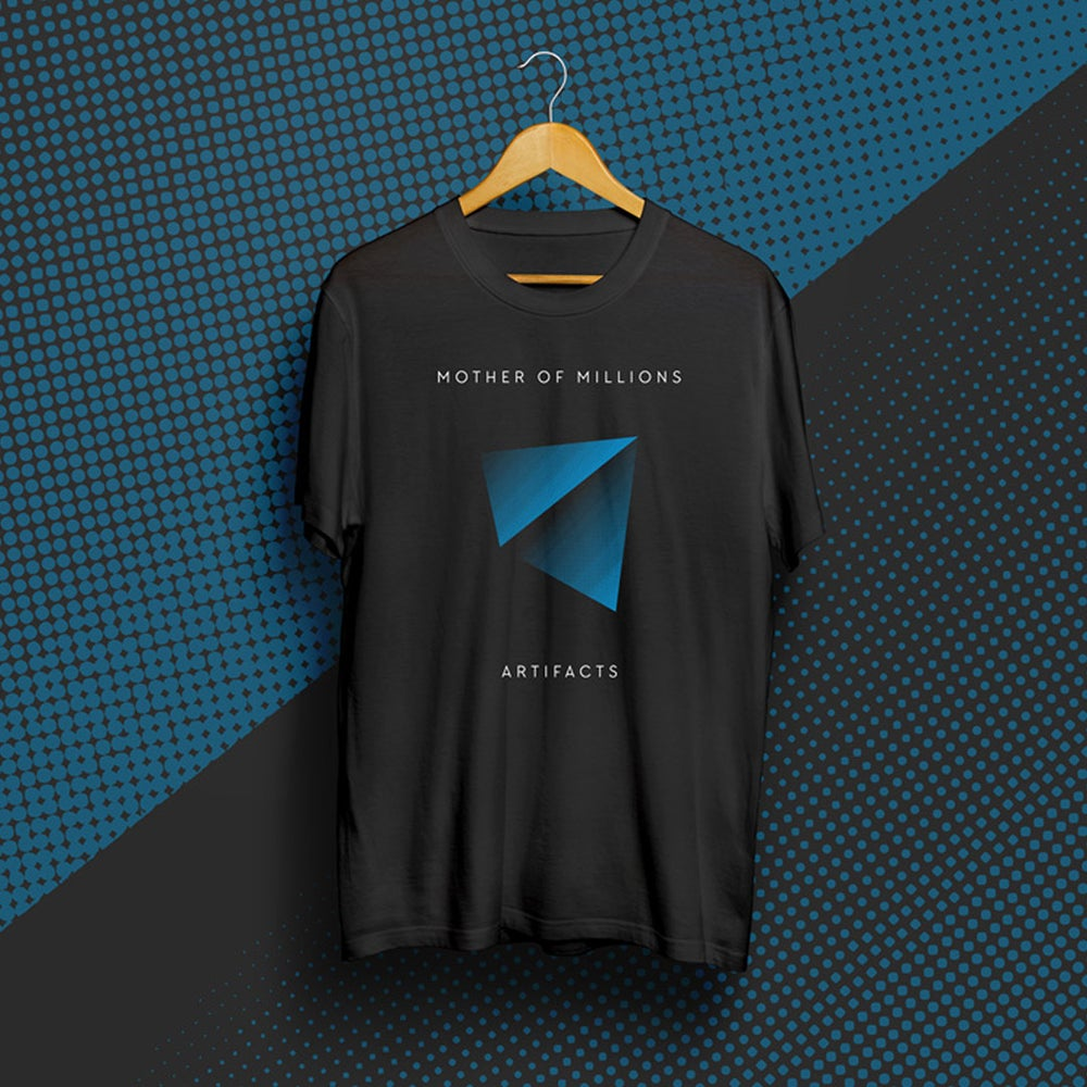 Image of Artifacts t-shirt (Blue Pyramid)