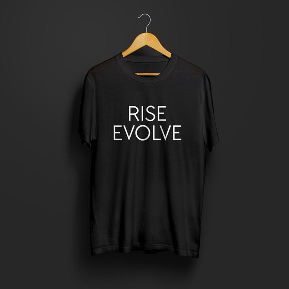 Image of Rise Evolve t-shirt (Black)