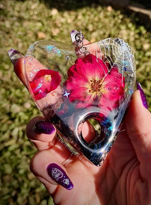 Image of Webbed Planchette with Smoky Rose infusion