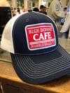 Navy/White Blue Bonnet Cafe Trucker Hat