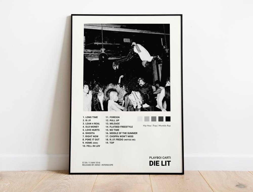Playboi Carti - Die Lit Album Cover Poster