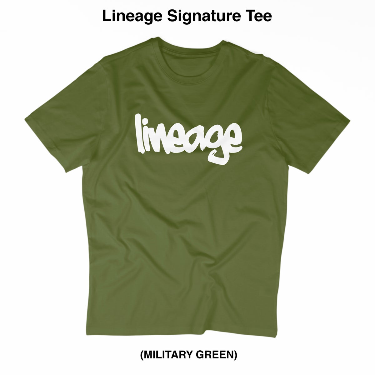 Image of LINEAGE SIGNATURE TEE