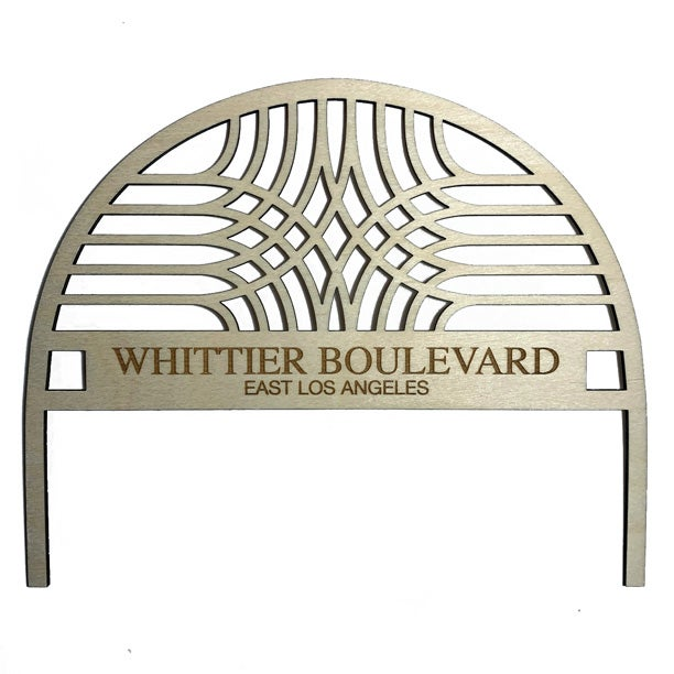 Image of whittier blvd arch / cake topper