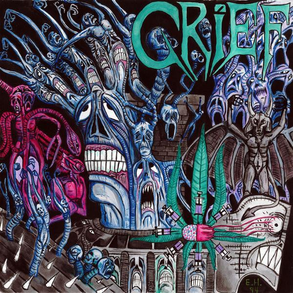"""GRIEF """"Come To Grief (Extended)"""" 2LP"""