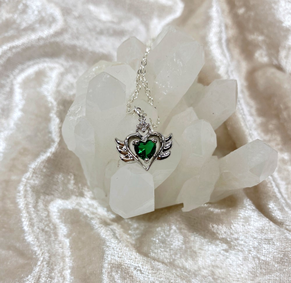 Image of May Sailor Moon necklace (silver)