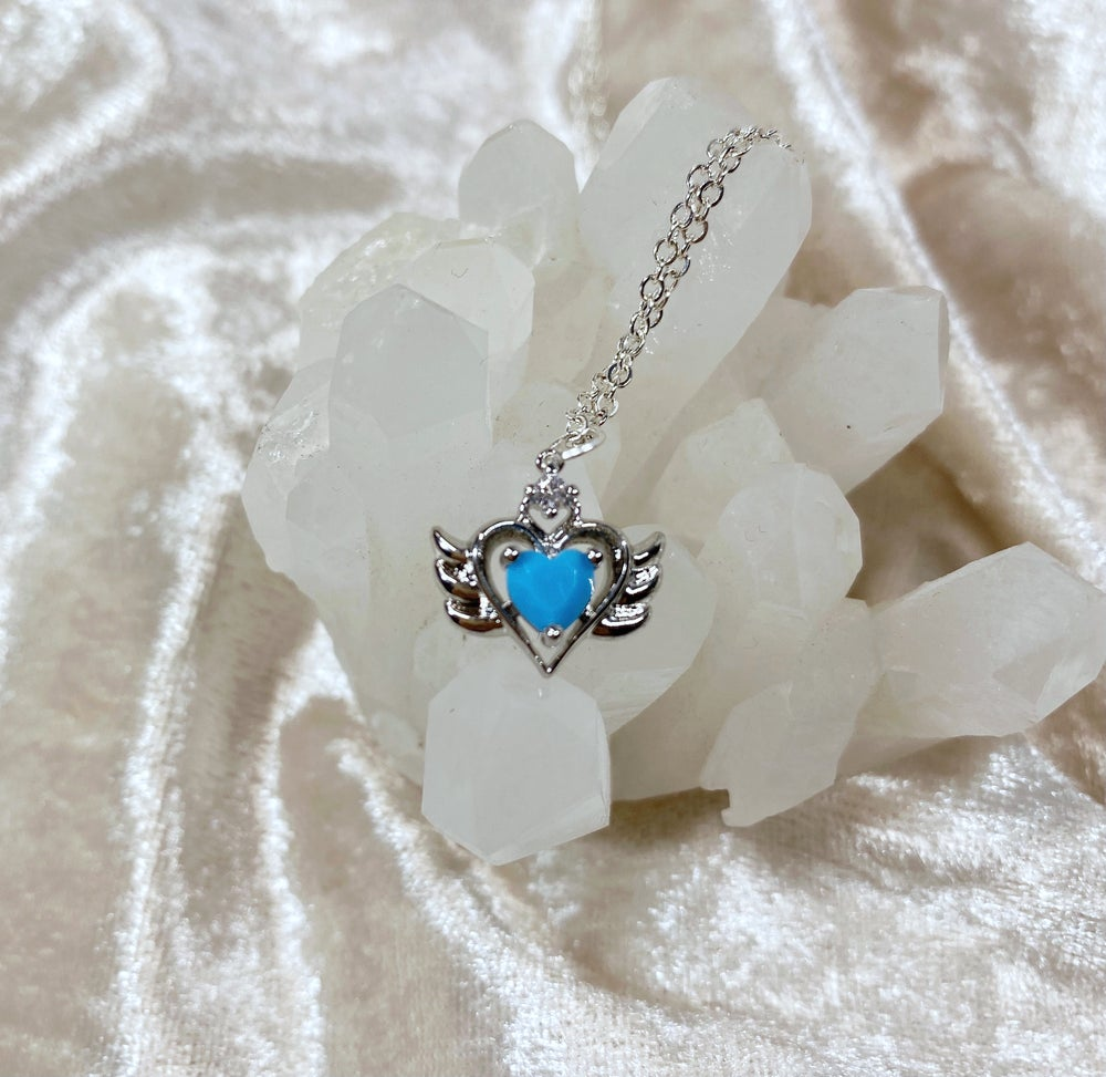 Image of December Sailor Moon necklace (silver)