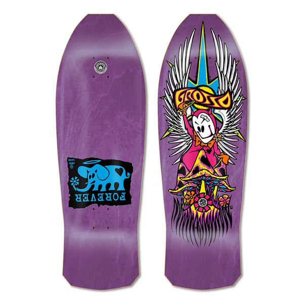 """Image of 1-Per Customer GROSSO """"FOREVER"""" 1989 reissue Purple Stain"""
