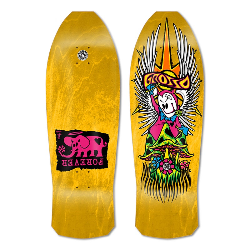 """Image of 1-Per Customer GROSSO """"FOREVER"""" 1989 reissue Yellow Stain"""